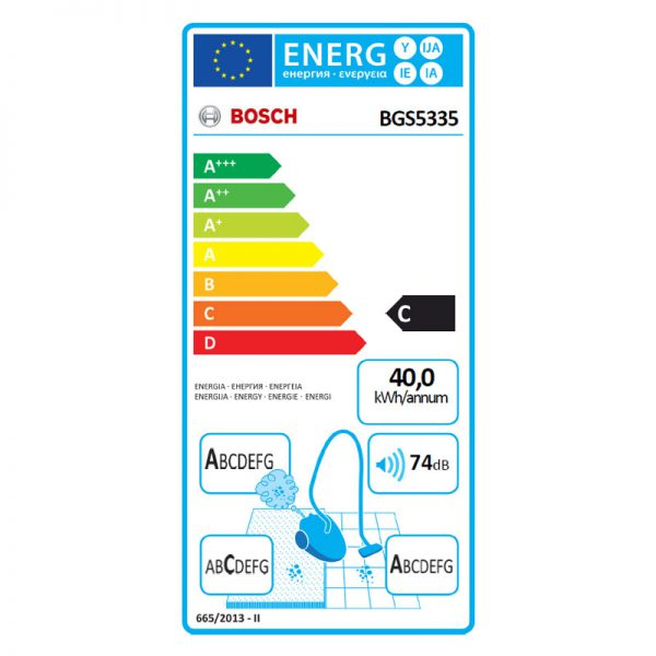 Bosch BGS5335