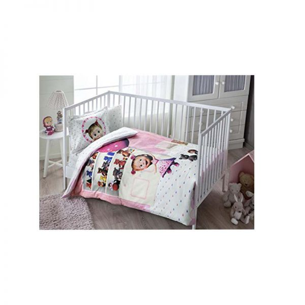 TAC posteljina za krevetac Masa i medo